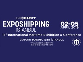 We will attend the 15th International Maritime Exhibition & Congress between 02-05/04/2019.